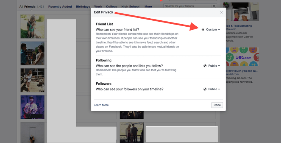 How To Hide Your Friends From Other People On Facebook… And Why This Is Dumb