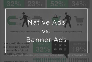 Exploring Native Ads Vs. Banner Ads – [Infographic]